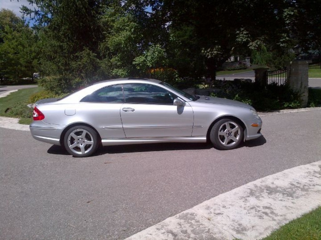 used 2005 mercedes benz clk 500 amg package for sale in york ontario. Black Bedroom Furniture Sets. Home Design Ideas