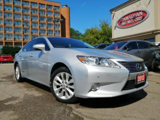 Used 2013 Lexus ES 300 h HYBRID | NAVI | SUN ROOF | LEATHER | CAM  | for sale in Scarborough, ON
