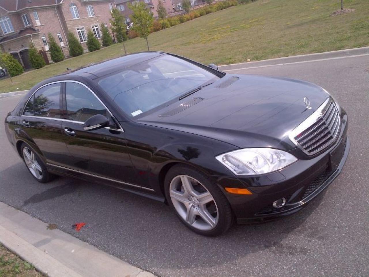Photo of Black 2009 Mercedes-Benz S550 4MATIC