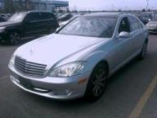Used 2007 Mercedes-Benz S 550 4-MATIC for sale in Newmarket, ON