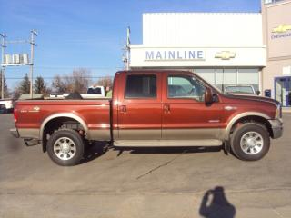 Used 2005 Ford F-350 Crew Cab 4X4 Super Duty King Ranch for sale in Watrous, SK