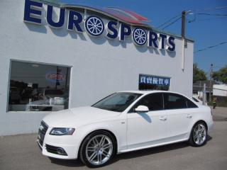 Used 2011 Audi A4 PREMIUM SPORTLINE for sale in Newmarket, ON