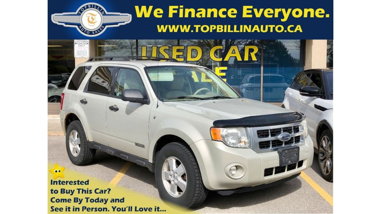 2008 Ford Escape XLT 3.0L 4WD, 2 Years Warranty
