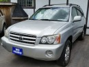 Used 2002 Toyota Highlander for sale in Brampton, ON