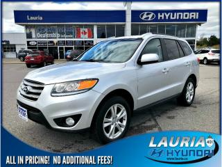 Used 2012 Hyundai Santa Fe GL Premium FWD - Low kms for sale in Port Hope, ON