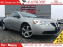 Used 2007 Pontiac G6 GT HARD TOP CONVERTIBLE| LEATHER| ALLOYS WHEELS for sale in Georgetown, ON