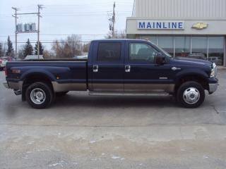 Used 2006 Ford F-350 Crew Cab 4X4 KING RANCH for sale in Watrous, SK