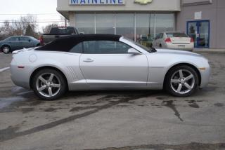 Used 2012 Chevrolet Camaro Convertible for sale in Watrous, SK