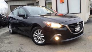 Used 2015 Mazda MAZDA3 GS-SKY - BACK-UP CAM! SUNROOF! HEATED SEATS! for sale in Kitchener, ON