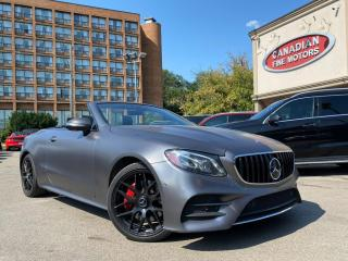 Used 2018 Mercedes-Benz E-Class E400 CLEAN CARFAX CABRIOLET  HUD   NAVI   CAM   BSM  ACC for sale in Scarborough, ON