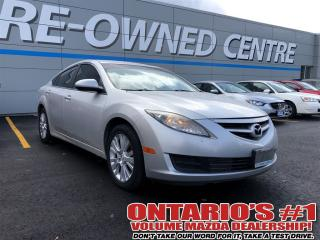 Used 2010 Mazda MAZDA6 GS HEATED SEATS / ONE OWNER!!!!-TORONTO for sale in North York, ON