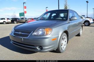 Used 2004 Hyundai Accent GL for sale in Grande Prairie, AB