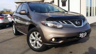 Used 2012 Nissan Murano SL AWD - LEATHER! BACK-UP CAM! PANO ROOF! for sale in Kitchener, ON