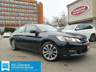 Used 2014 Honda Accord Sedan CLEAN CARFAX | SPORTS PKG | ALLOY | CAM | 4 NEW SNOW TIRES* for sale in Scarborough, ON