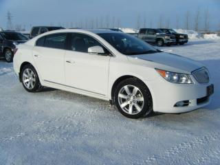 Used 2011 Buick LaCrosse CXL for sale in Virden, MB