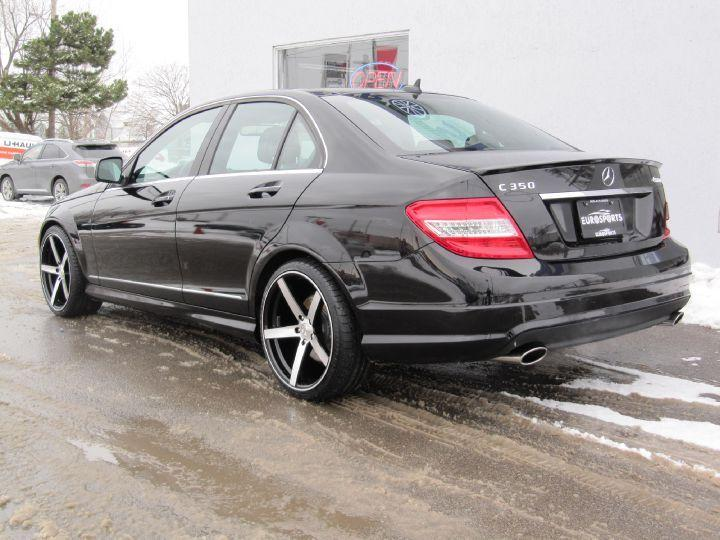 Used 2009 mercedes benz c 350 4 matic for sale in markham for Mercedes benz markham