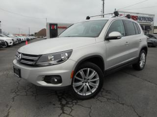 Used 2012 Volkswagen Tiguan AWD - HIGHLINE - LEATHER for sale in Oakville, ON