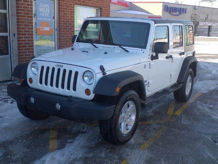 used 2012 jeep wrangler sport for sale in toronto ontario. Black Bedroom Furniture Sets. Home Design Ideas