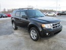 Used 2012 Ford Escape XLT 4WD 6AT for sale in Drayton Valley, AB