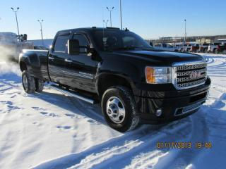 Used 2013 GMC Sierra 3500 K3500 Crew Denali 4x4 Crew Cab Diesel Dually for sale in Drayton Valley, AB