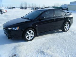 Used 2013 Mitsubishi Lancer SE for sale in Virden, MB