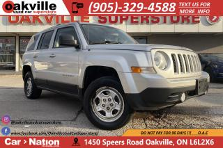 Used 2013 Jeep Patriot 4WD SPORT | CRUISE | AUX | RARE MANUAL TRANS for sale in Oakville, ON