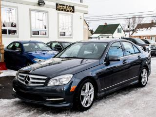 Used 2011 Mercedes-Benz C-Class C300 4MATIC NAV ROOF PDC AWD WOW!! for sale in Ottawa, ON