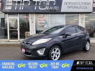Used 2011 Ford Fiesta SES ** Leather, Sunroof, Bluetooth ** for sale in Bowmanville, ON