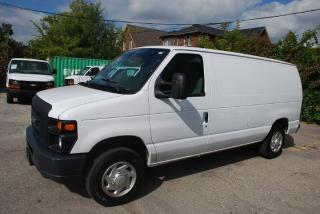 Used 2011 Ford E-150 1/2 TON,NO SIDE WINDOWS,DIVIDER,TRACTION CONTROL for sale in Woodbridge, ON