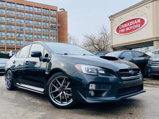 Used 2015 Subaru WRX CLEAN CARFAX | LEATHER | ROOF | 4 NEW SNOW TIRES* for sale in Scarborough, ON