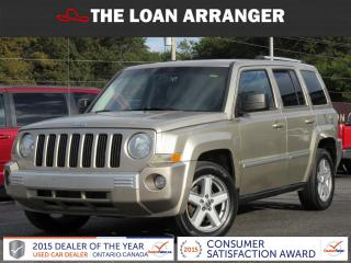 Used 2010 Jeep Patriot LIMITED for sale in Barrie, ON