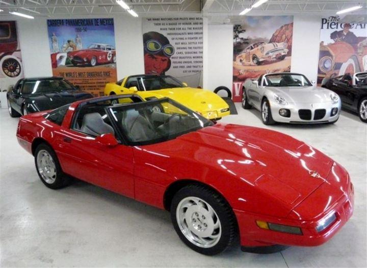 Used 1996 chevrolet corvette torch red for sale in paris for Garage yamaha paris