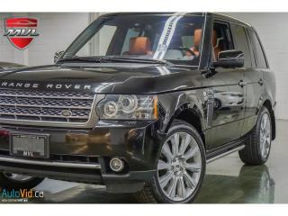Used 2011 Land Rover Range Rover Supercharged Autobiography for sale in Oakville, ON