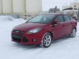 Used 2013 Ford Focus Titanium for sale in Innisfail, AB