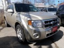 Used 2011 Ford Escape Limited for sale in Brampton, ON