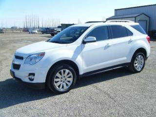 Used 2011 Chevrolet Equinox 1LT for sale in Virden, MB