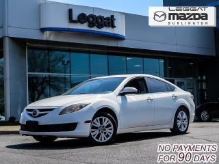 Used 2010 Mazda MAZDA6 GS- AUTOMATIC, MOONROOF, A/C, ALLOY WHEELS for sale in Burlington, ON