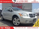 Used 2011 Dodge Caliber SXT HEATED SEATS| FOG LIGHTS| CLEAN CARPROOF for sale in Georgetown, ON