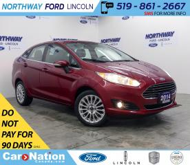 Used 2014 Ford Fiesta Titanium | HTD SEATS | BACK UP CAM | PUSH START | for sale in Brantford, ON