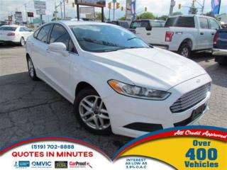 Used 2014 Ford Fusion SE | BLUETOOTH | SAT RADIO for sale in London, ON