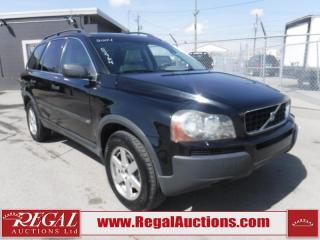 Used 2004 Volvo XC90 4D Utility AWD for sale in Calgary, AB