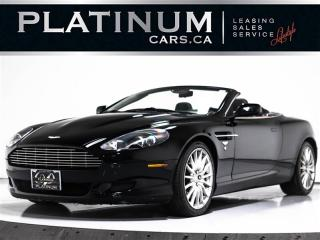 Used 2006 Aston Martin DB9 Volante CONVERTIBLE, V12, NAVI, Leather for sale in Toronto, ON
