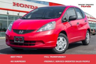 Used 2014 Honda Fit DX (MT) for sale in Whitby, ON
