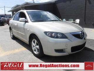 Used 2007 Mazda MAZDA3 4D Sedan FWD for sale in Calgary, AB