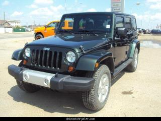Used 2011 Jeep Wrangler Unlimited Sahara for sale in Taber, AB