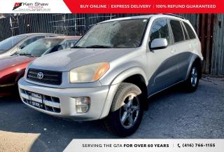 Used 2002 Toyota RAV4 for sale in Toronto, ON