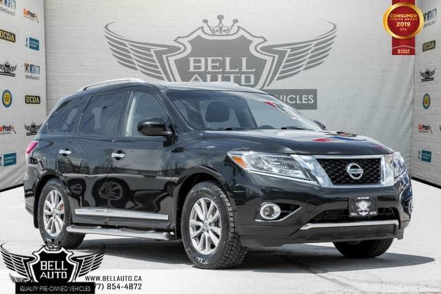 2015 Nissan Pathfinder SL,PREMIUM TECH, NAVI, 360 CAM, SUNROOF, LEATHER