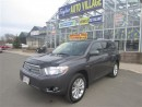 Used 2010 Toyota Highlander Hybrid Limited for sale in Moncton, NB