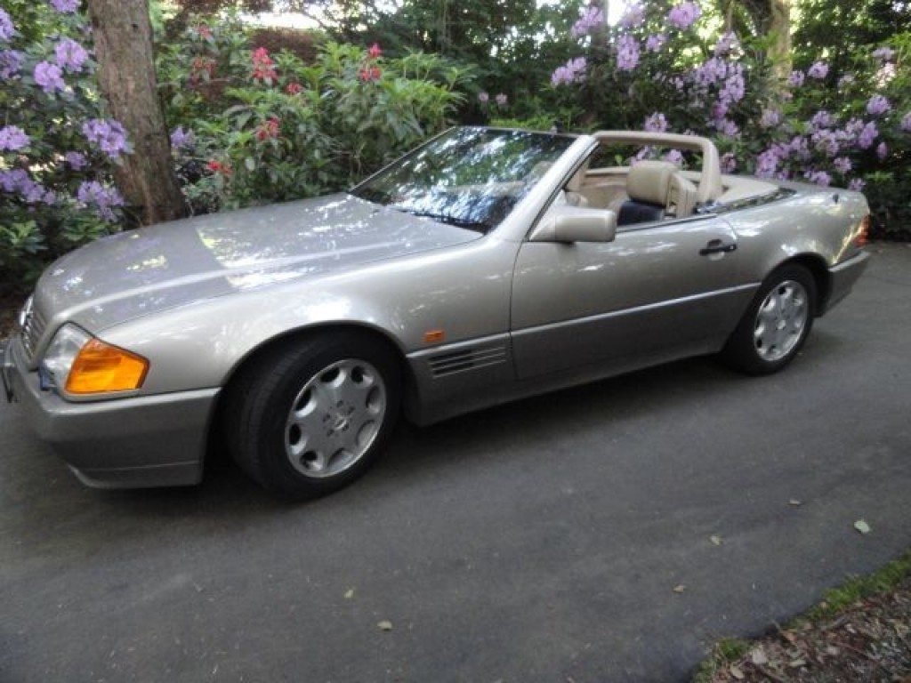 used 1990 mercedes benz 500sl for sale in surrey british. Black Bedroom Furniture Sets. Home Design Ideas
