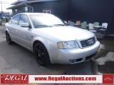 Photo of Silver 2001 Audi A6